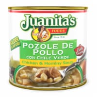 Juanita's Pozole De Pollo Chicken & Hominy Soup