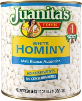 Juanita's White Hominy