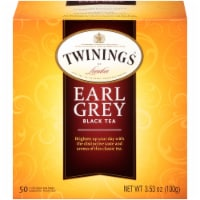 Twinings Earl Grey Black Tea Bags - 50 ct