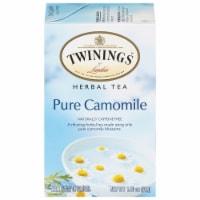 Twinings of London Pure Chamomile Herbal Tea Bags - 20 ct