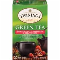 Twinings of London Pomegranate Raspberry & Strawberry Green Tea Bags