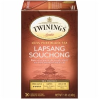 Twinings Of London Lapsang Souchong Pure Black Tea Bags 20 Count