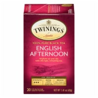 Twinings Of London English Afternoon Pure Black Tea Bags