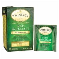 Twining's Decaffeinated Irish Breakfast Black Tea Bags 20 Count