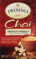 Twinings of London French Vanilla Chai Tea Bags