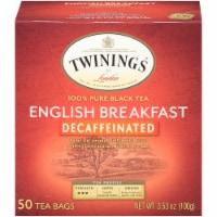 Twinings of London English Breakfast Decaffeinated Black Tea Bags