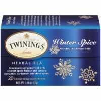 Twinings of London Winter Spice Caffeine Free Herbal Tea Bags 20 Count - 20 ct