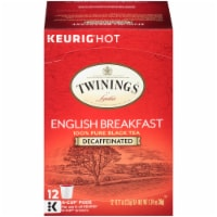Twinings Of London Decaffeinated English Breakfast Tea K-Cup Pods