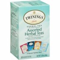 Twining's Tea Herbal Tea - Assorted Herbal Teas - Case of 6 - 20 Bags - 20 BAG