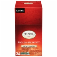 Twinings Decaffeinated English Breakfast Tea K-Cup Pods