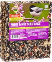Audubon Park Fruit and Nut Seed Cake Wild Bird Food
