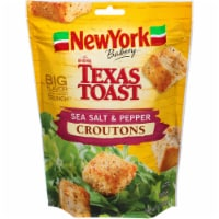 New York Bakery Texas Toast Sea Salt & Pepper Croutons