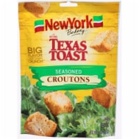 New York Bakery Texas Toast Seasoned Croutons