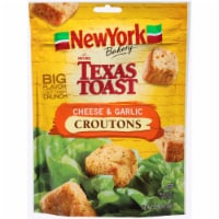 New York Bakery Texas Toast Cheese & Garlic Croutons