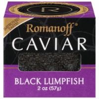 Romanoff Black Lumpfish Caviar