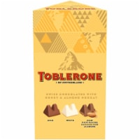 Toblerone Swiss Chocolates with Honey & Almond Nougat Variety Gift Box