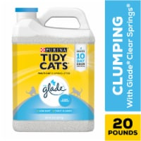 Tidy Cats with Glade Clear Springs Clumping Multi Cat Litter