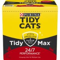 Purina Tidy Cats Tidy Max Multiple Cat Clumping Litter - 38 lb