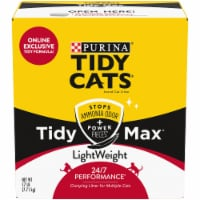 Purina Tidy Cats Tidy Max Light Weight Multiple Cat Clumping Litter - 38 lb