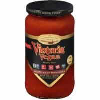 Victoria Vegan White Bean Marinara Sauce - 18 oz
