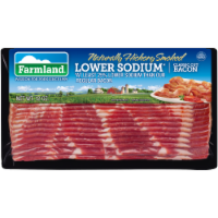 Farmland Hickory Smoked Low Sodium Classic Cut Bacon