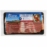 Pure Farmland All Natural Uncured Applewood Smoked Classic Cut Bacon