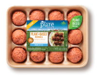 Pure Farmland Homestyle Plant-Based Meatballs 12 Count