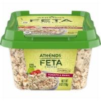 Athenos Crumbled Tomato & Basil Feta Cheese