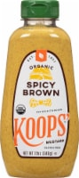Koops Mustard  Organic Spicy Brown