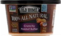 Old Home Crunchy Peanut Butter - 14 oz