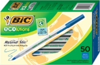BIC Ecolutions Round Stic Ball Pens - Blue