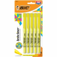 BIC Brite Liner® Highlighters - Yellow