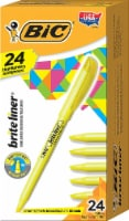 Bic  Brite Liner®  Chisel Tip Fluorescent Highlighter Yellow