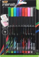 BIC Intensity Fineliner Fine Point Pens - Assorted