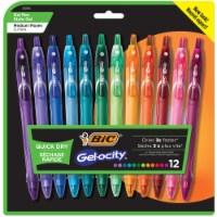 BIC Gelocity Quick Dry Fashion Medium Point Gel Pens - Assorted