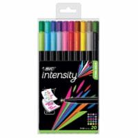 BIC Intensity Fineliner Fine Point Marker Pens - 20 pk