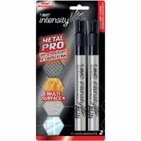BIC Intensity Metal Pro Permenant Marker Pack - Black