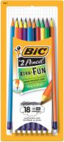 BIC® Xtra Fun #2 Pencil - 18 Piece