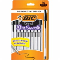 BIC Cristal Xtra Smooth Medium Ball Point Pens - Black