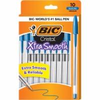 BIC Cristal Xtra Smooth Medium Ball Point Pens - Blue