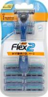 BIC Flex 2 Hybrid Disposable Razors
