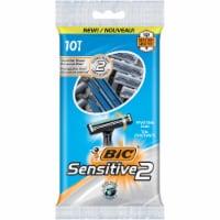 BIC Sensitive2 Pivoting Head Disposable Razors - 10 ct