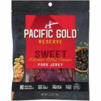 Pacific Gold  Reserve BBQ Pork Jerky   Sweet Korean - 2.5 oz Each / Pack of 8
