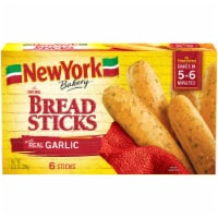 New York Bakery Garlic Bread Sticks 6 Count