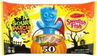 Sour Patch Kids & Swedish Fish Spooky Mix Treat Size Bags - 50 ct