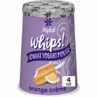 Yoplait Whips Orange Creme Lowfat Yogurt Mousse