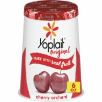 Yoplait Original Cherry Orchard Low Fat Yogurt