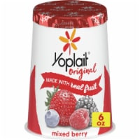Yoplait Original Mixed Berry Low Fat Yogurt