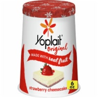 Yoplait Original Strawberry Cheesecake Low Fat Yogurt