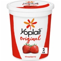 Yoplait Original Smooth Style Strawberry Low Fat Yogurt